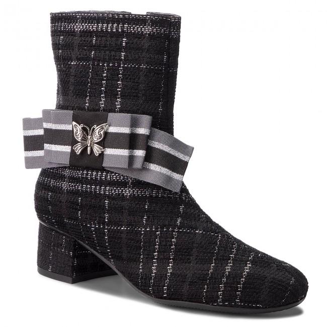Magasított cipő HEGO'S MILANO - 1070-3 Nero