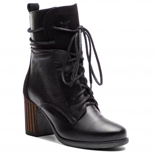 Magasított cipő MACIEJKA 03805 0100 3 Fekete