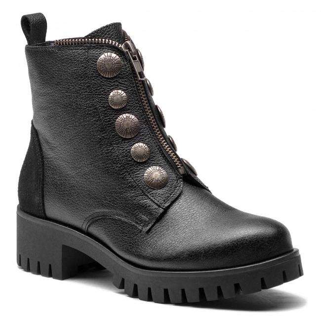 Magasított cipő MACIEJKA 03835 0100 3 Fekete