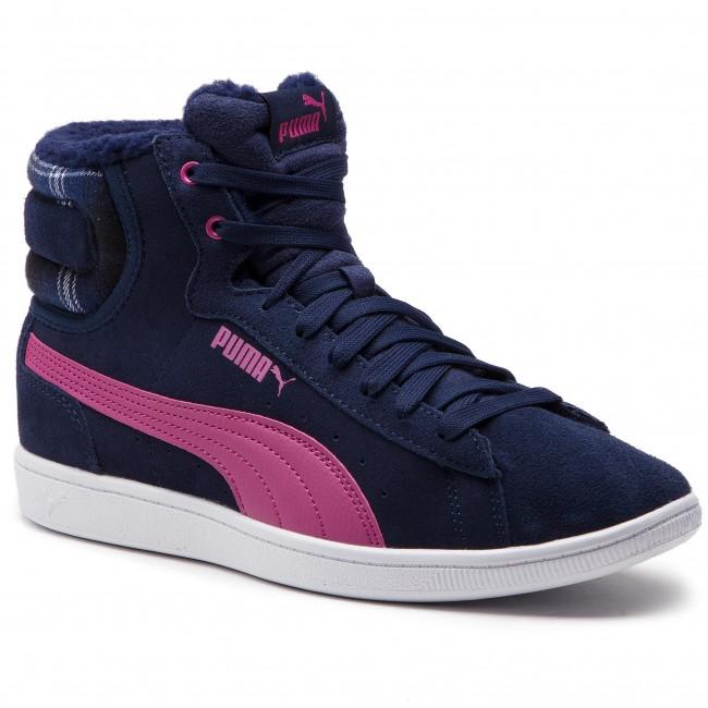 Puma Vikky Mid Wtr Peacoat Magenta Haze női cipő 38