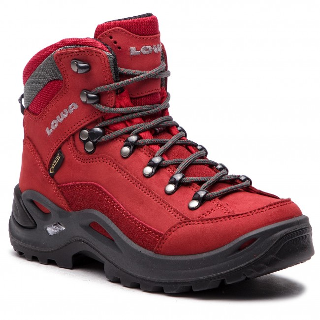 Bakancs LOWA Renegade Gtx Mid Ws GORE TEX 320945 Red 0340