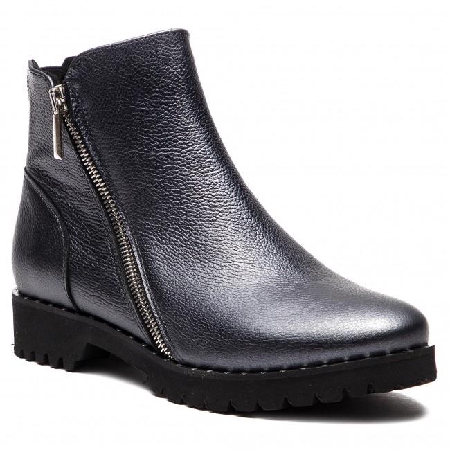 Magasított cipő SAGAN 2990 Srebrny Lico