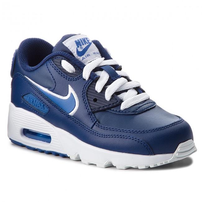 Cipő NIKE Air Max 90 Ltr (PS) 833414 409 Blue VoidGame RoyalWhite