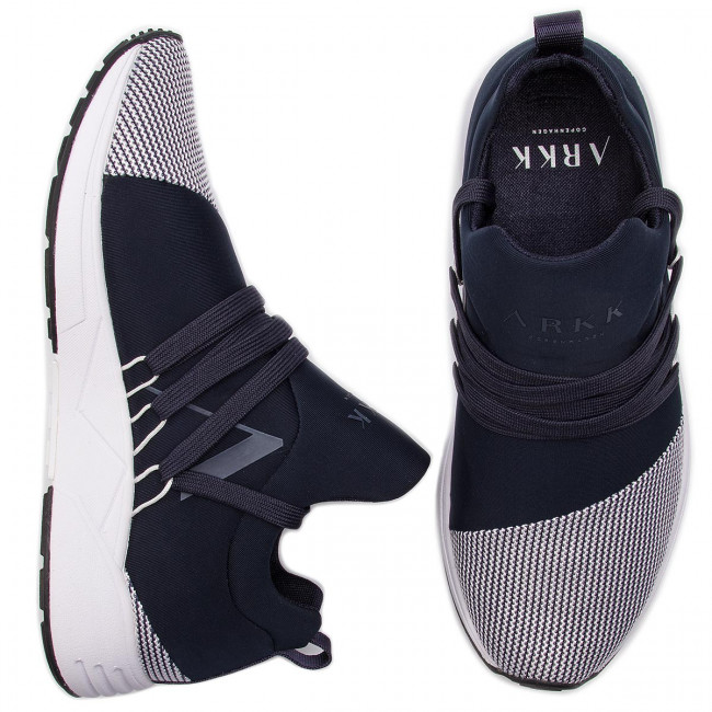 Sportcipő ARKK COPENHAGEN - Raven Mesh S-E15 IL1401-0052-W Midnight/White - Sneakers - Félcipő - Női