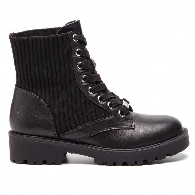 Elképesztő Ár Női Cipők Magasított cipő STEVE MADDEN - Hike SM11000396-03007-001 Black - Bokacsizmák - Csizmák és egyebek - Női daZCRLeS