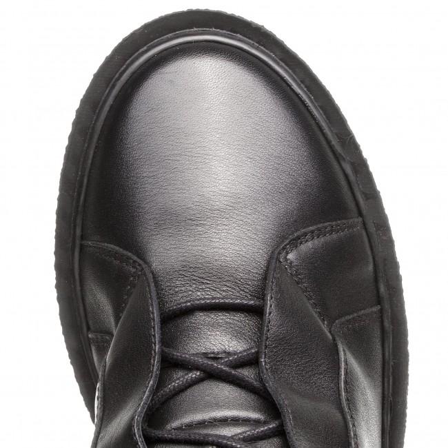 Magasított cipő GINO ROSSI - Oda DTH977-Y35-0379-9900-F 99 - Bokacsizmák - Csizmák és egyebek - Női fKmkOp04