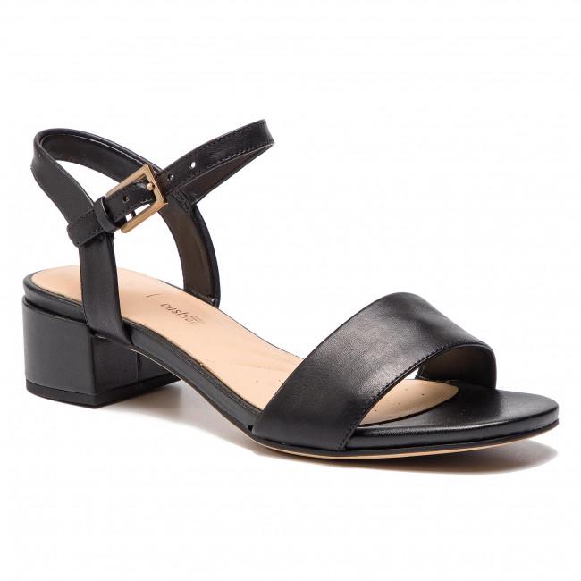 Szandál CLARKS Orabella Iris 261393394 Black Leather