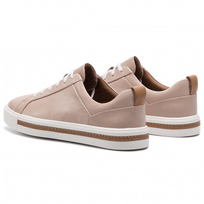 Sportcipő CLARKS - Un Maui Lace 261401674 Blush Leather - Sneakers - Félcipő - Női