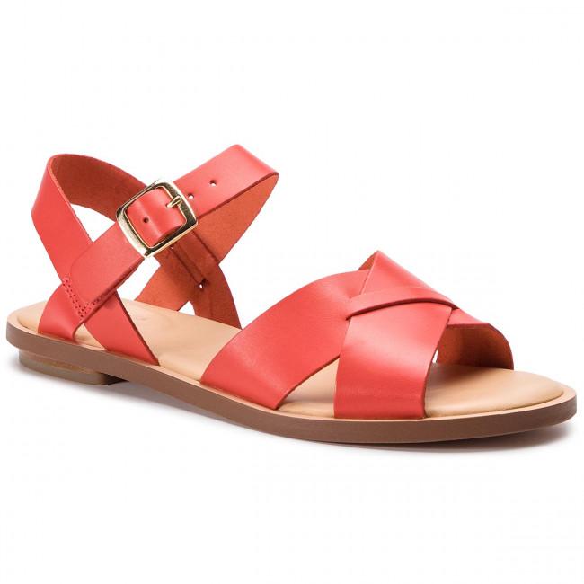 Szandál CLARKS Willow Gild 261407764 Orange Leather 261407764
