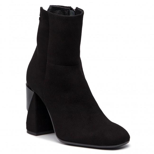 Magasított cipő MACCIONI 605.121.30401 Fekete