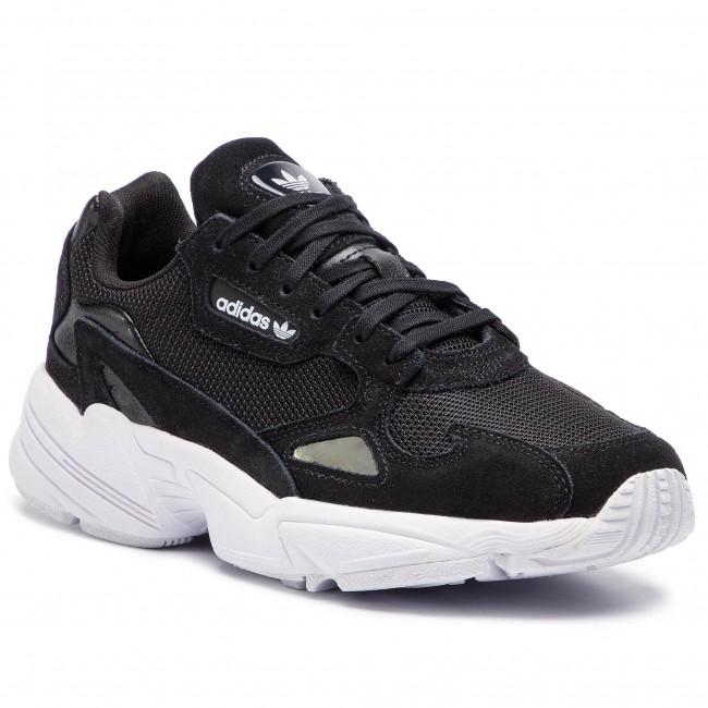 adidas Originals Falcon B28129 női sneakers cipő | FEKETE