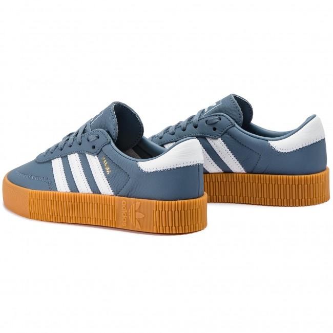 adidas Originals Sambarose DB2695 női sneakers cipő | KÉK