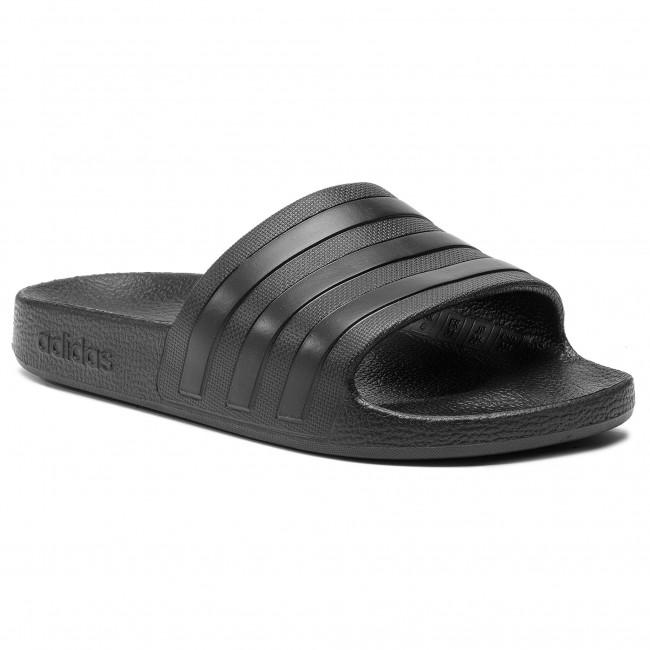Papucs adidas - adilette Aqua F35550 Cblack/Cblack/Cblack