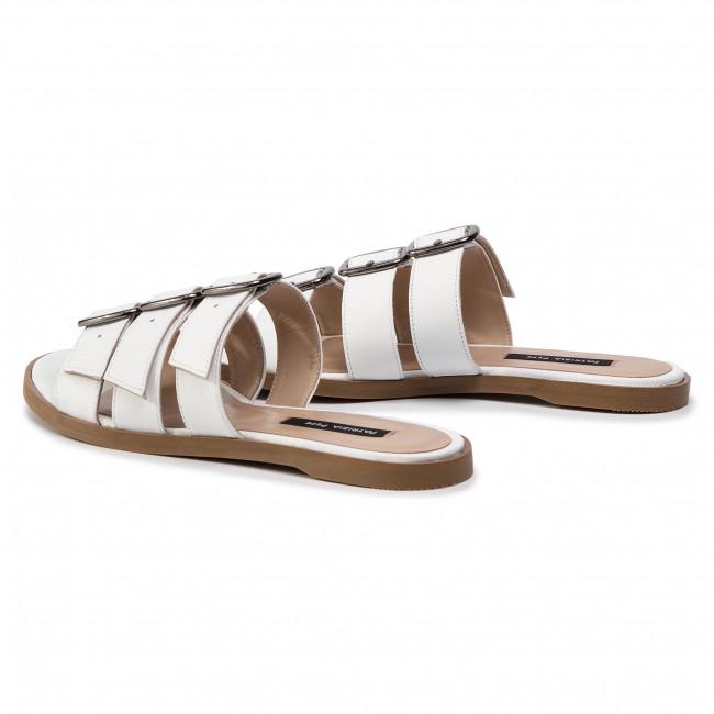 Papucs PATRIZIA PEPE - 2V8741/A5B4-W146 Bianco - Hétköznapi papucsok - Papucsok - Papucsok és szandálok - Női