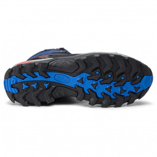 Bakancs CMP - Rigel Mid Trekking Shoes Wp 3Q12947 B.Blue/Royal 10NC - Bakancsok - Csizmák és egyebek - Férfi