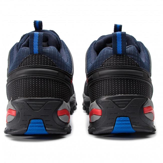 Bakancs CMP - Rigel Low Trekking Shoes Wp 3Q54457 B.Blue/Royal 10NC - Túracipők - Félcipő - Férfi