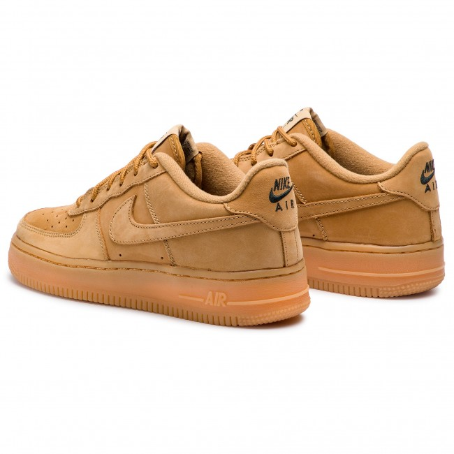 Nike Air Force 1 Winter Premium GS shoes flaxyellow