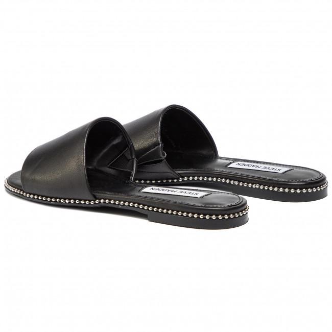 Papucs STEVE MADDEN Satisfy SM11000492 03001 017 Black Leather