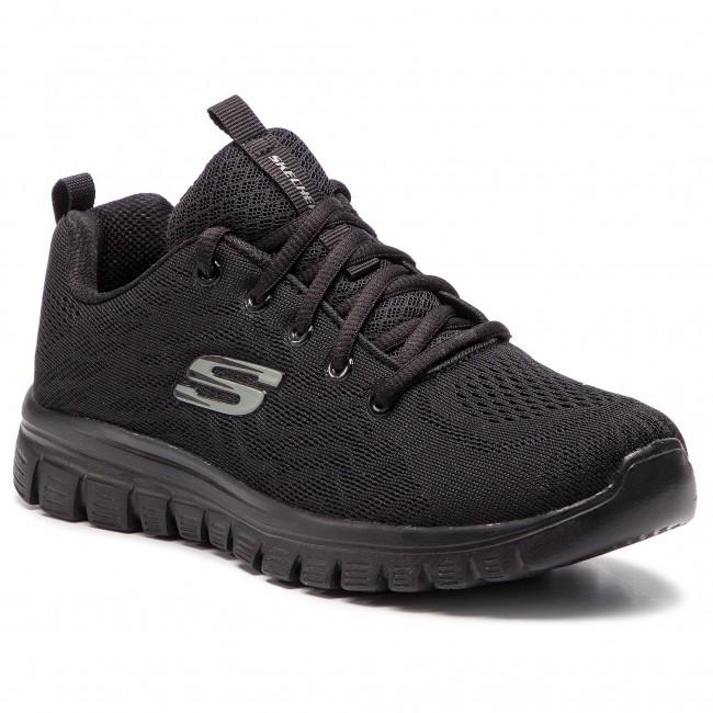 Cipő SKECHERS - Get Connected 12615/BBK Black