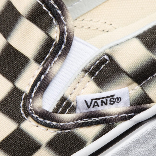 Gyors Szállítás Női Cipők Teniszcipő VANS - Classic Slip-On VN0A38F7VJM1  (Blur Check) Black/Classi - Tornacipők - Félcipő - Női hLSqcB7J