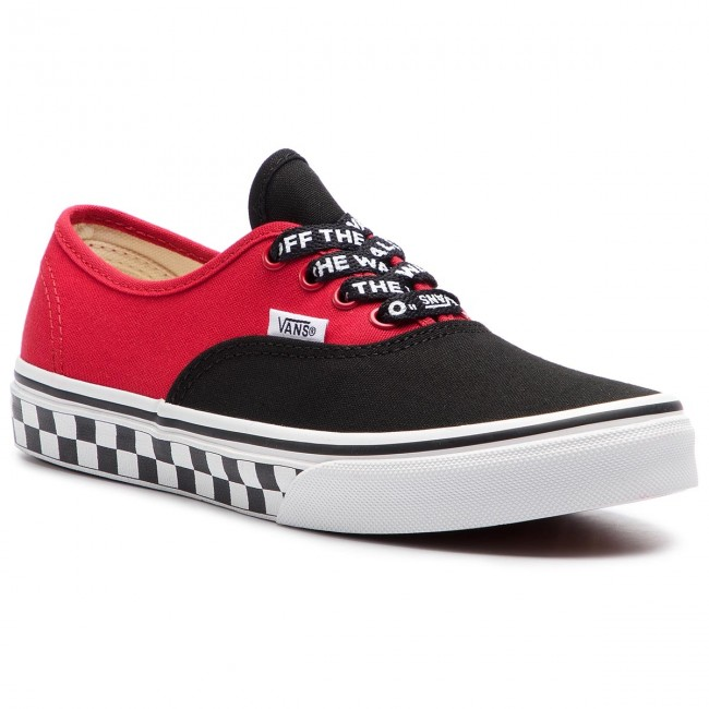 Teniszcipő VANS Authentic VN0A38H3VI71 (Logo Pop) BlackTrue Whi