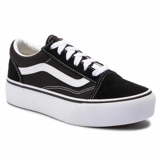 Teniszcipő VANS Old Skool Platfor VN0A3TL36BT1 BlackTrue White