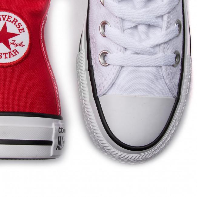 Jó Minőség Női Cipők Tornacipő CONVERSE - Ctas Hi 563460C Enamel Red/White/Enamel Red - Tornacipők - Félcipő - Női bDfBJOCd