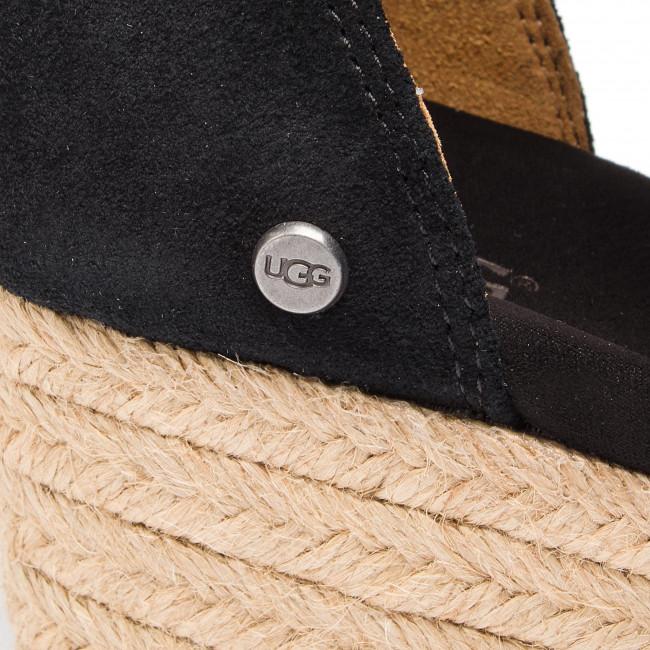 Nagy Kedvezmény Női Cipők Espadrilles UGG - W Trina 1099693 W/Blk - Espadrilles - Papucsok és szandálok - Női cyk6hUVA
