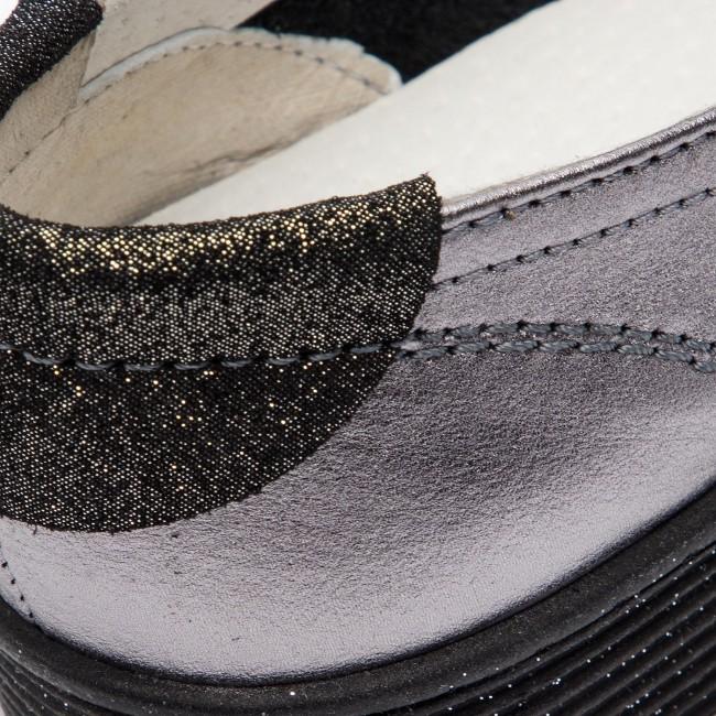 Félcipő POLLONUS - 5-1044-003 Srebro Metal - Lapos - Félcipő - Női