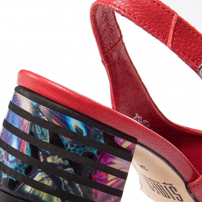 Alacsony Költségű Női Cipők Szandál SIMEN - 1538A Santini Czerwony - Hétköznapi szandálok - Szandálok - Papucsok és szandálok - Női wAmh9G47