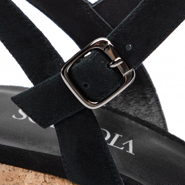 Gyári Akció Női Cipők Espadrilles SCA'VIOLA - B-148 Black - Espadrilles - Papucsok és szandálok - Női KhHcttpb