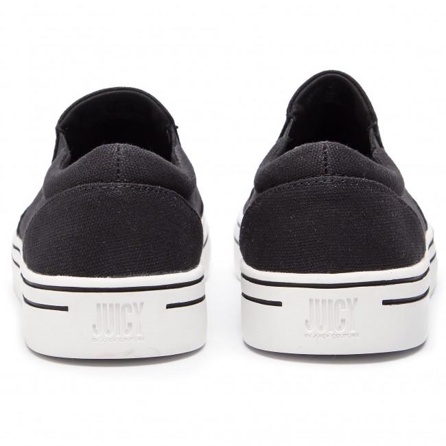 Eredeti Női Cipők Teniszcipő JUICY BY JUICY COUTURE - Cesara JJ172 Pitch Black - Tornacipők - Félcipő - Női QOfyJhTy