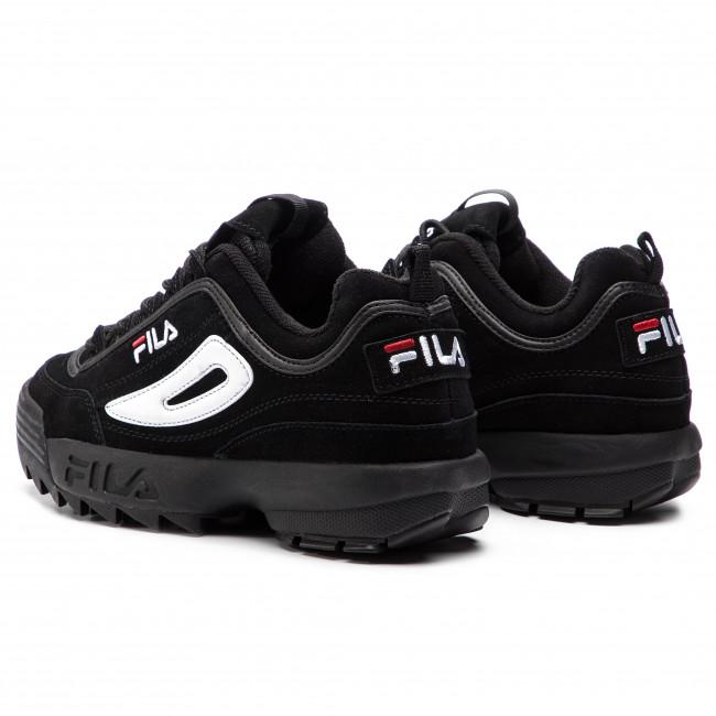 Sportcipő FILA - Disruptor S Low 1010490.12V Black/Black - Sneakers - Félcipő - Női