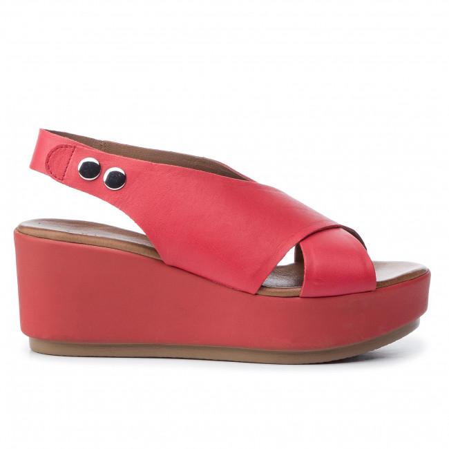Szandál INUOVO - 123007 Cherry - Magasított sarkú cipők - Papucsok és szandálok - Női