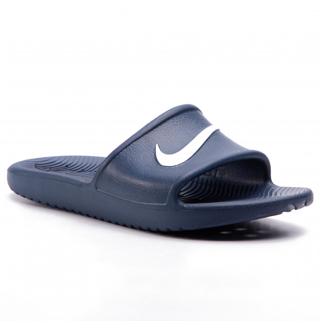 Papucs NIKE - Kawa Shower (GS/PS) BQ6831 401 Navy/White