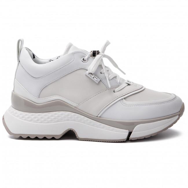 Sportcipő KARL LAGERFELD - KL61610 White Lthr 011 - Sneakers - Félcipő - Női