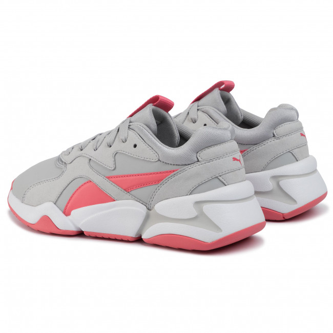 Sportcipő PUMA Nova Core Sl Jr 370129 02 Gray VioletCalypso Coral