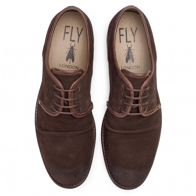 Félcipő FLY LONDON - Westfly P141855011 Expresso/Dkbrow - Hétköznapi - Félcipő - Férfi