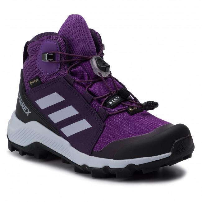 Cipő adidas Terrex Mid Gtx K GORE TEX BC0597 ActpurAerbluTrupnk