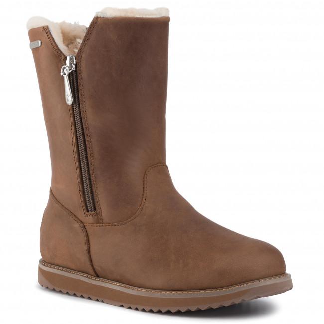 Magasított cipő EMU AUSTRALIA Gravelly Leather W12131 Oak