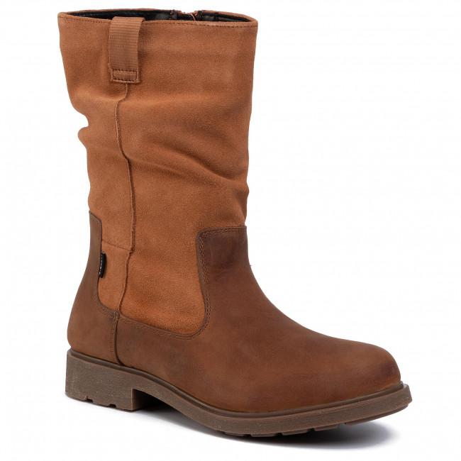 Magasított cipő CLARKS Astrol Rise Y 261455146 Tan Leather