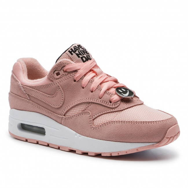 Cipő NIKE Air Max 1 Nk Day (Gs) AT8131 600 Bleached CoralBleached Coral