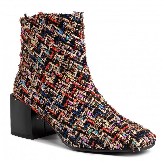 Magasított cipő BALDOWSKI - D02702-2835-006 Zamsz Topazzio - Bokacsizmák - Csizmák és egyebek - Női
