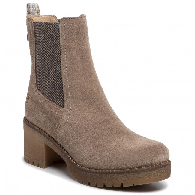 Magasított cipő TAMARIS 1 25936 33 Taupe 341