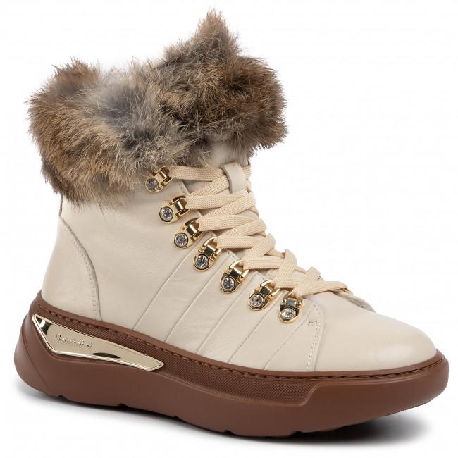 Magasított cipő BALDININI 048033ASILA9341XXRXX Biscotto