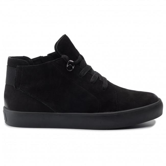 Sportcipő CAPRICE - 9-25251-23 Black Nubuc 008 - Sneakers - Félcipő - Női