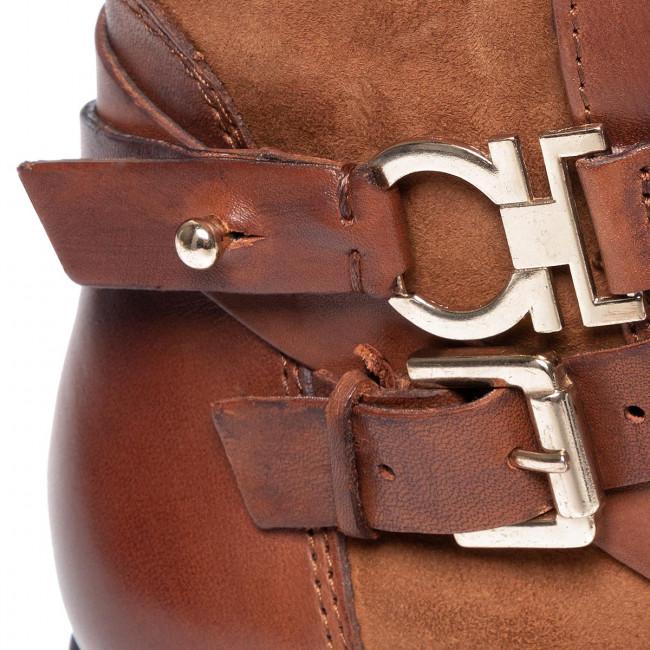 Magasított cipő CAPRICE - 9-25309-23 Brandy Comb 321 - Bokacsizmák - Csizmák és egyebek - Női