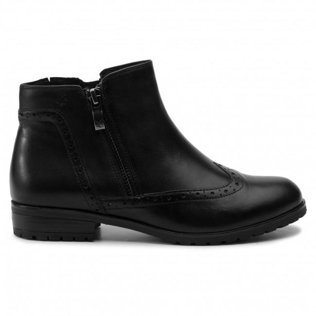 Magasított cipő CAPRICE 9 25314 23 Black Nappa 022