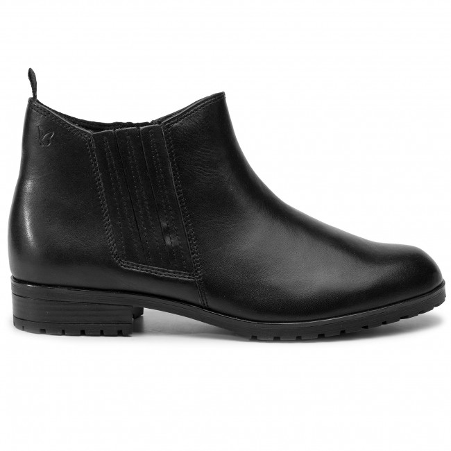 Magasított cipő CAPRICE 9 25316 23 Black Nappa 022