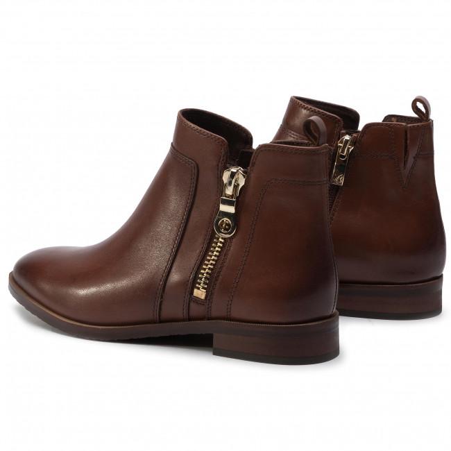 Magasított cipő CAPRICE 9 25329 23 Cognac Nappa 303